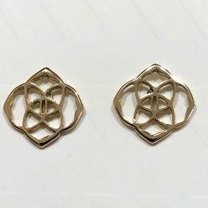 Kendra Scott Dira Stud Earrings In Gold